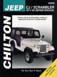 Jeep Cj/Scrambler, 1971-86