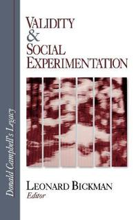 Validity & Social Experimentation