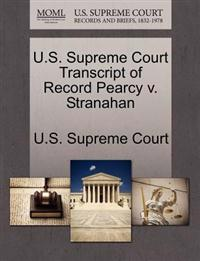 U.S. Supreme Court Transcript of Record Pearcy V. Stranahan