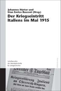 Der Kriegseintritt Italiens Im Mai 1915