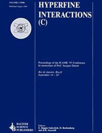 Proceedings of the ICAME '97 Conference: In Memoriam of Professor Jacques Danon