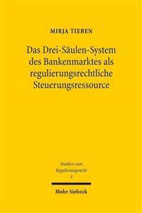Das Drei-Saulen-System Des Bankenmarktes ALS Regulierungsrechtliche Steuerungsressource
