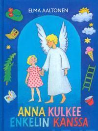Anna kulkee enkelin kanssa