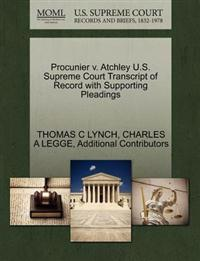 Procunier V. Atchley U.S. Supreme Court Transcript of Record with Supporting Pleadings