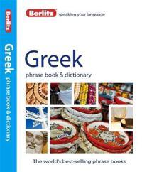 Berlitz Greek Phrase Book and Dictionary