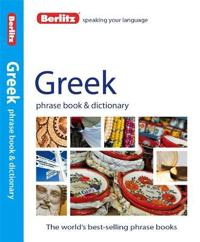 Berlitz Greek Phrase Book + Dictionary