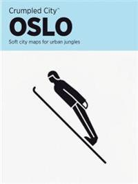 Oslo Crumpled City Map