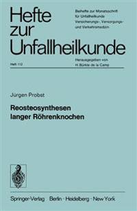 Reosteosynthesen Langer R�hrenknochen