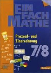 EinFach Mathe. Prozent und Zinsrechnung