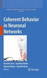Coherent Behavior in Neuronal Networks