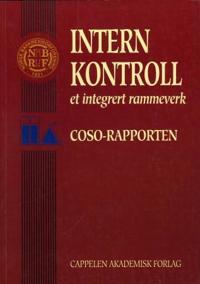 Intern kontroll - Vincent M. O'Reilly, Frank J. Tanki, R. Malcolm Schwartz, Robert J. Spear, Richard M. Steinberg pdf epub