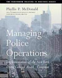 Managing Police Operations