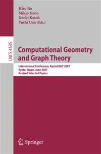Computational Geometry and Graph Theory