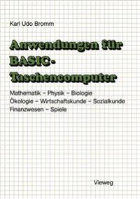 Anwendungen Fur Basic-Taschencomputer
