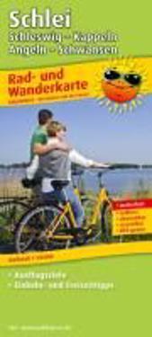 Rad- und Wanderkarte Schlei, Schleswig - Kappeln - Angeln - Schwansen 1 : 50 000