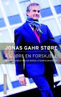 Å gjøre en forskjell - Jonas Gahr Støre   Inprintwriters.org