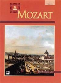 Mozart - Twelve Songs