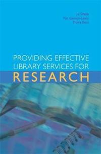 Providing Effective Library Sevices For Research
