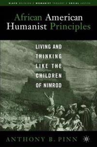 African American Humanist Principles