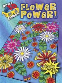 Flower Power! Coloring Book