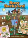 Busy Backyard Coloring and Activity Book