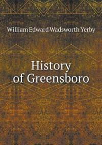 History of Greensboro