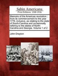 Memoirs of the American Revolution