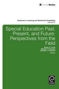 Special Education Past, Present, and Future