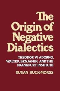 The Origin of Negative Dialectics