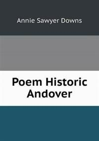 Poem Historic Andover