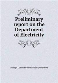 Preliminary Report on the Department of Electricity