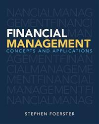 Financial Management: Concepts and Applications Plus New Myfinancelab with Pearson Etext -- Access Card Package