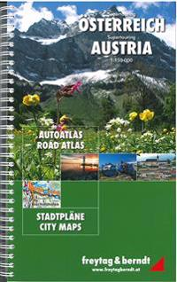 Austria Supertouring Roads Atlas