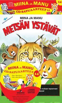 Miinan ja Manun cd-satuaarteet 14 (2 kirjaa + cd-levy)