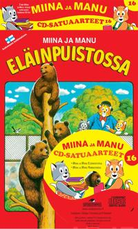 Miinan ja Manun cd-satuaarteet 16 (2 kirjaa + cd-levy)