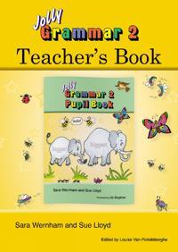 Grammar 2 teachers book - in precursive letters (be)
