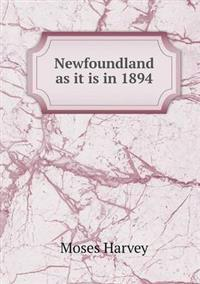 Newfoundland as It Is in 1894