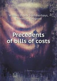 Precedents of Bills of Costs