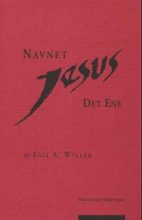 Navnet Jesus - Egil A. Wyller pdf epub