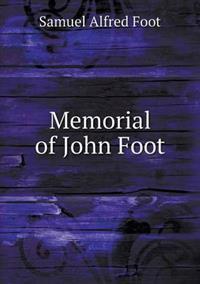 Memorial of John Foot