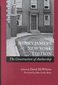 Henry James's New York Edition
