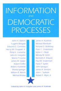 Information and Democratic Processes
