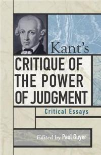 Kant's Critique of the Power of Judgment