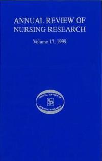 Annual Review of Nursing Research, Volume 17, 1999