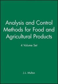 Analysis and Control Methods for Food and Agricultural Products, 4 Volume S