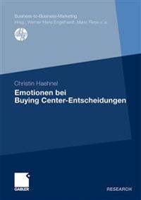Emotionen bei Buying Center-entscheidungen