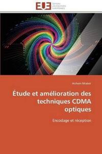 Etude Et Amelioration Des Techniques Cdma Optiques