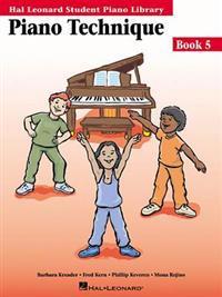 Piano Technique Book 5: Hal Leonard Student Piano Library