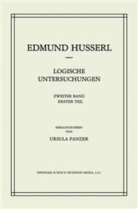 Logische Untersuchungen, Zweiter Band