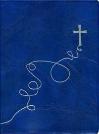 Virsikirja (taskuvirsikirja Risti, sininen, taipuisat muovikannet)